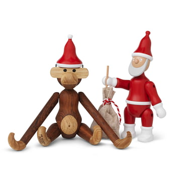 Kay Bojesen - Santa's Cap with Monkey and Santa