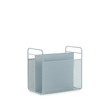 Analog Magazine Holder by Normann Copenhagen in Blue Grey