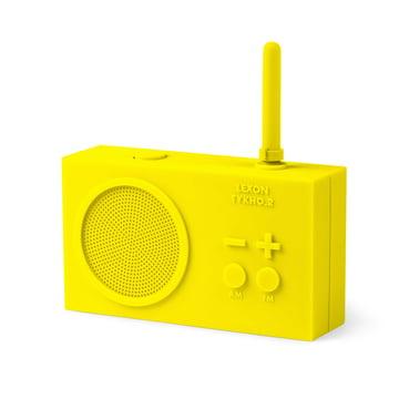 Tykho 2 Radio by Lexon in Yellow