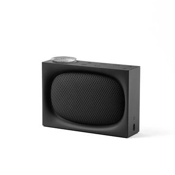 Ona Radio & Bluetooth Speaker by Lexon in Black