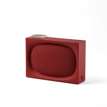 Ona Radio & Bluetooth Speaker by Lexon in Red