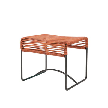 Acapulco Design - Acapulco Stool Leather, cognac / black