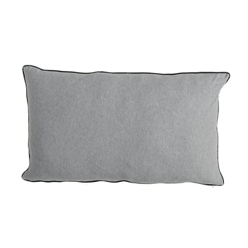 The Bloomingville Jersey Cushion Cover 90 x 50 cm in light grey
