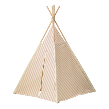 The Bloomingville - Children tepee in nude / white