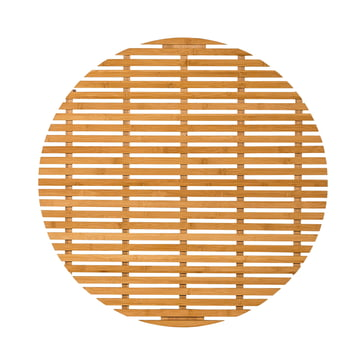 The Bloomingville Bamboo Bath Mat, nature