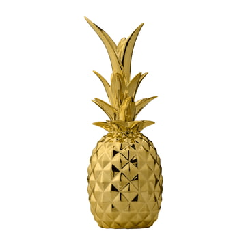 Bloomingville - Decorative Pineapple, gold