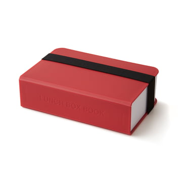 Lunch Box Book by Black + Blum in Red