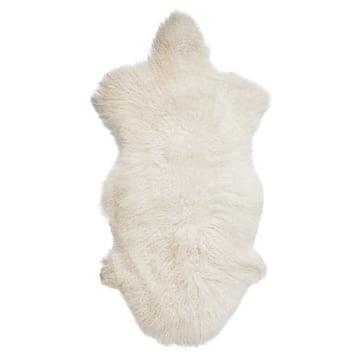 Nougat Bloomingville Sheep Fur Rug
