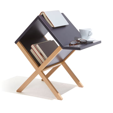 emform - Book Table, black