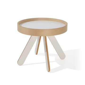 emform - Valet tray table low, white