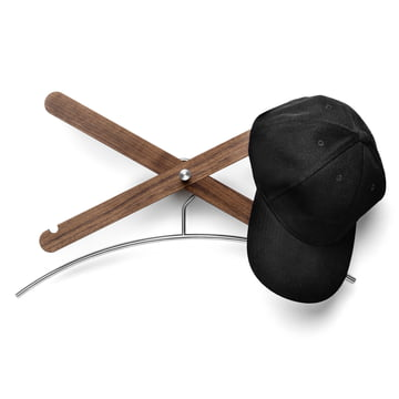 Coat rack simply X from side by side