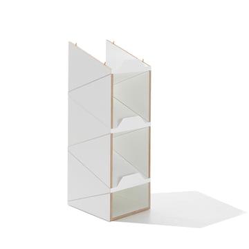 emform - Shustack shoe cabinet, white / white