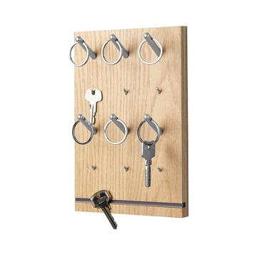 emform - Pin key rack, oak