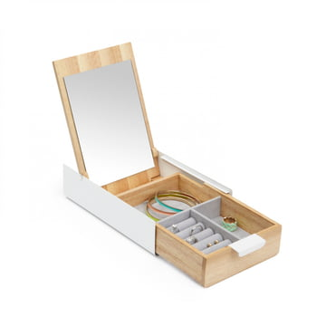 Umbra - Reflexion Box, nature / white