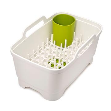 Wash & Drain Plus from Joseph Joseph in White / Green