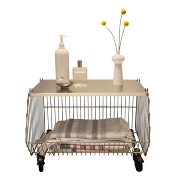 Pension für Produkte - Home Wire Basket, gold