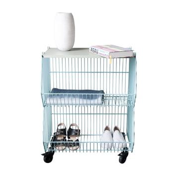 Pension für Produkte - Home Wire Basket, cement blue