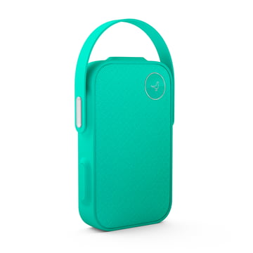 The Libratone - One Click Bluetooth Speaker in Caribbean Green