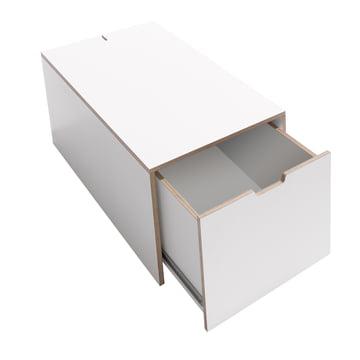 Bedding Box 16 by Müller Möbelwerkstätten in White