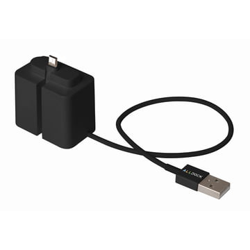 AllDock One-Hand Adapter micro USB from AllDock in Black