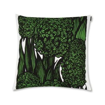 The Marimekko - Hyasintti Cushion Cover 50 x 50 cm, green / white / black