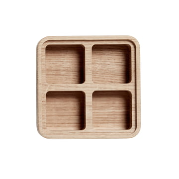 Create Me Box 12 x 12 cm by Andersen Furniture out of Oak with 4 Compartments