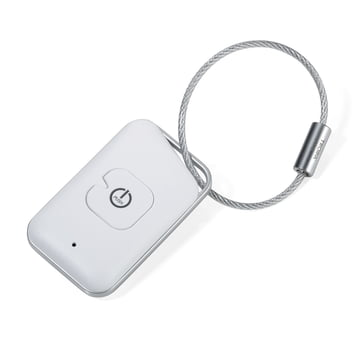 Selfmate Keys and Smartphone Finder by Troika in White