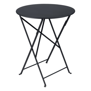 Fermob - Bistro Folding Table Ø 60 cm, anthracite