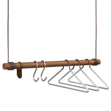 LindDNA hooks & hangers on the swing hanging coat rack