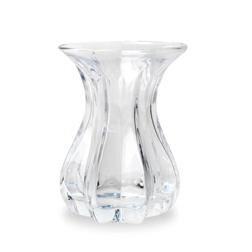Vase Tulip by Bjørn Wiinblad in Clear Glass
