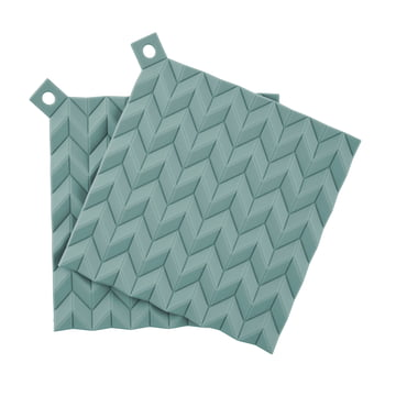 Rig-Tig by Stelton - Hold-On Potholder Set (set of 2), seafoam