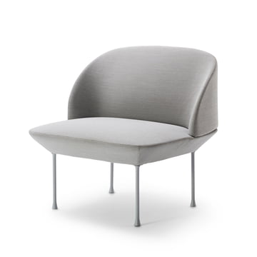 Muuto - Oslo Lounge Chair, Steelcut 160