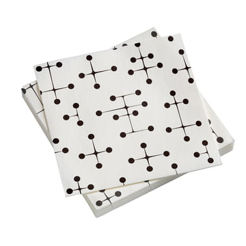Paper Napkins Large with Dot Pattern light by Vitra
