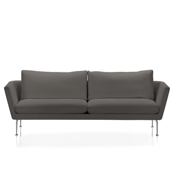 Suita Sofa 3-seater by Vitra in sand / anthracite