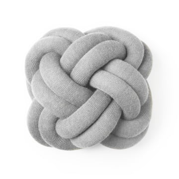 Design House Stockholm - Knot Cushion, light grey