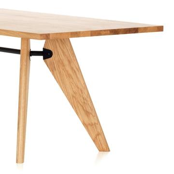Table Solvay Oak by Vitra