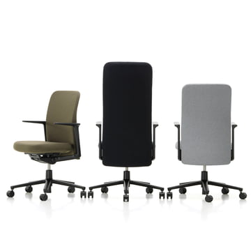 Pacific Chair by Vitra in different versions