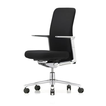 Pacific Chair by Vitra with Back in Black / F30 Plano Nero Seat