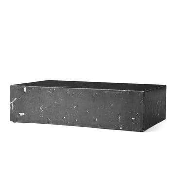 Plinth coffee table by Menu in black