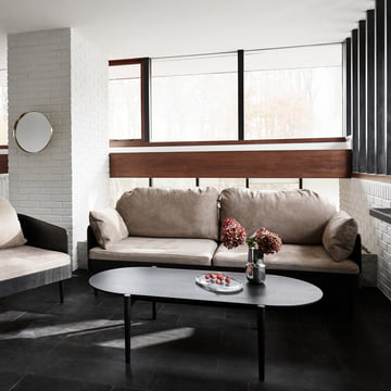Septembre collection: Coffee table, sofa and chair