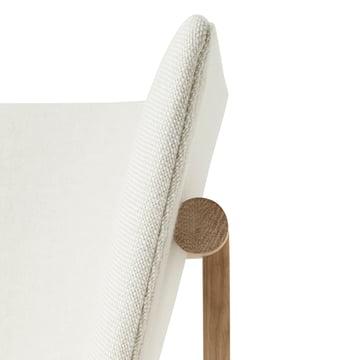 The armrest of the Menu Tailor Lounge Sofa
