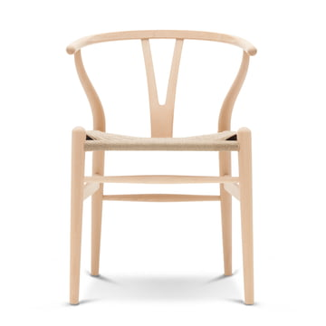 Carl Hansen - CH24 Wishbone Chair, beech soaped / wicker work