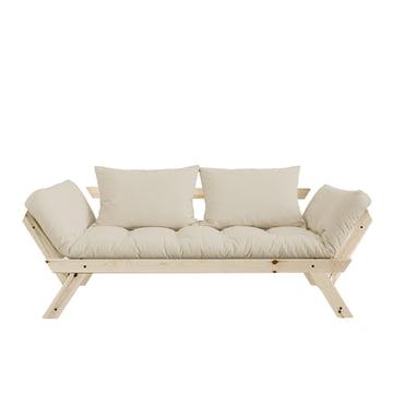 Bebop Sofa by Karup in natural pine/beige - 747
