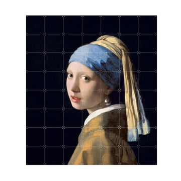 Girl with a Pearl Earring (Vermeer) by IXXI in 140 x 160 cm