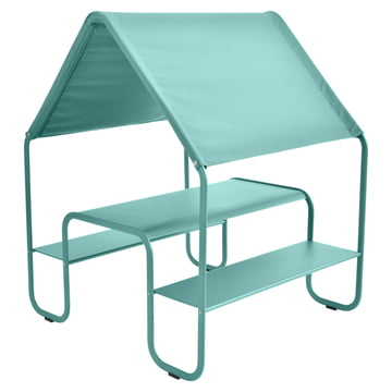 Children's Picnic Hut by Fermob in lagoon blue