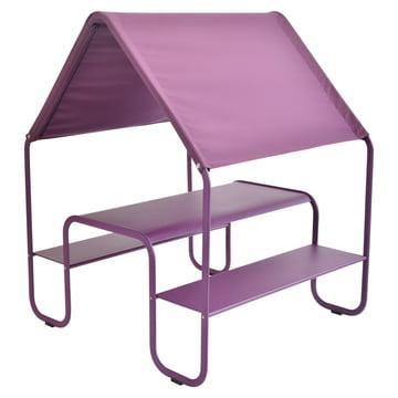 Children's Picnic Hut by Fermob in aubergine