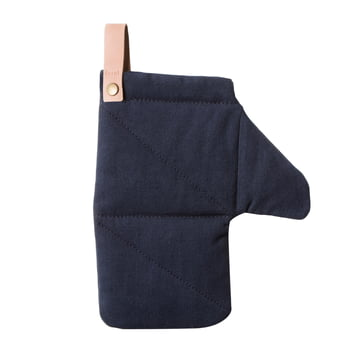 Canvas Oven Glove by Ferm Living in blue
