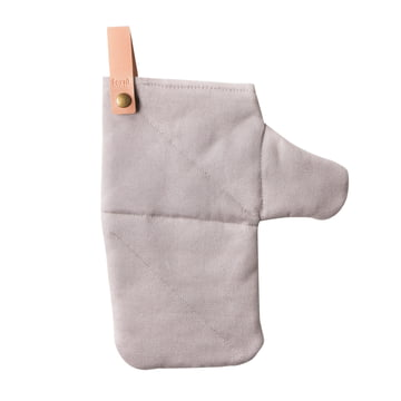 Canvas Oven Glove by Ferm Living in gray