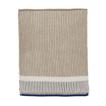 Akin Knitted Tea Towel by ferm Living in Beige