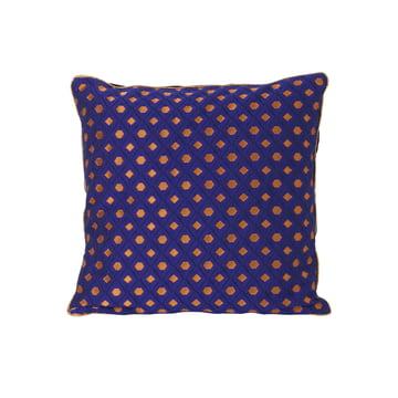 ferm Living - Salon Cushion Mosaic 40 x 40 cm, blue